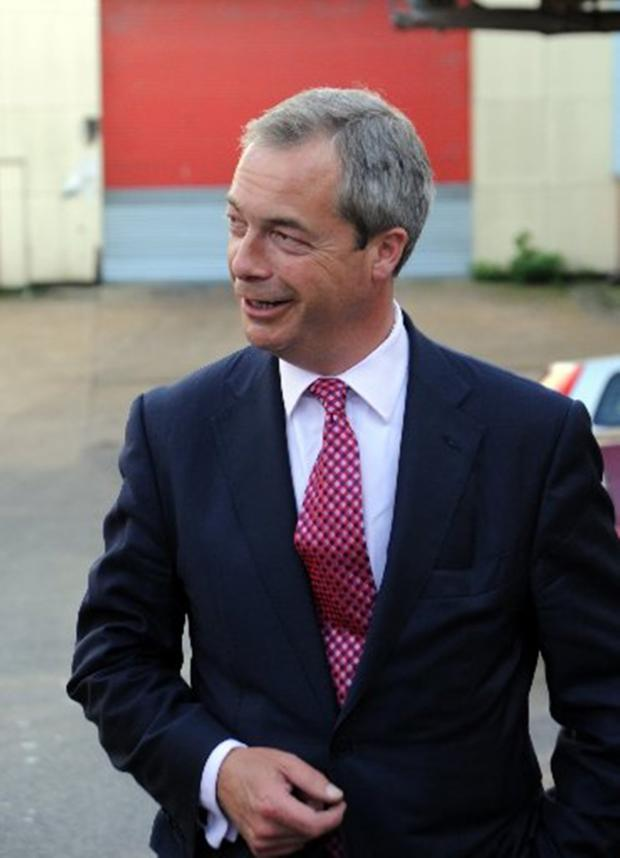 Somerset County Gazette: NIGEL Farage says charity should begin at home