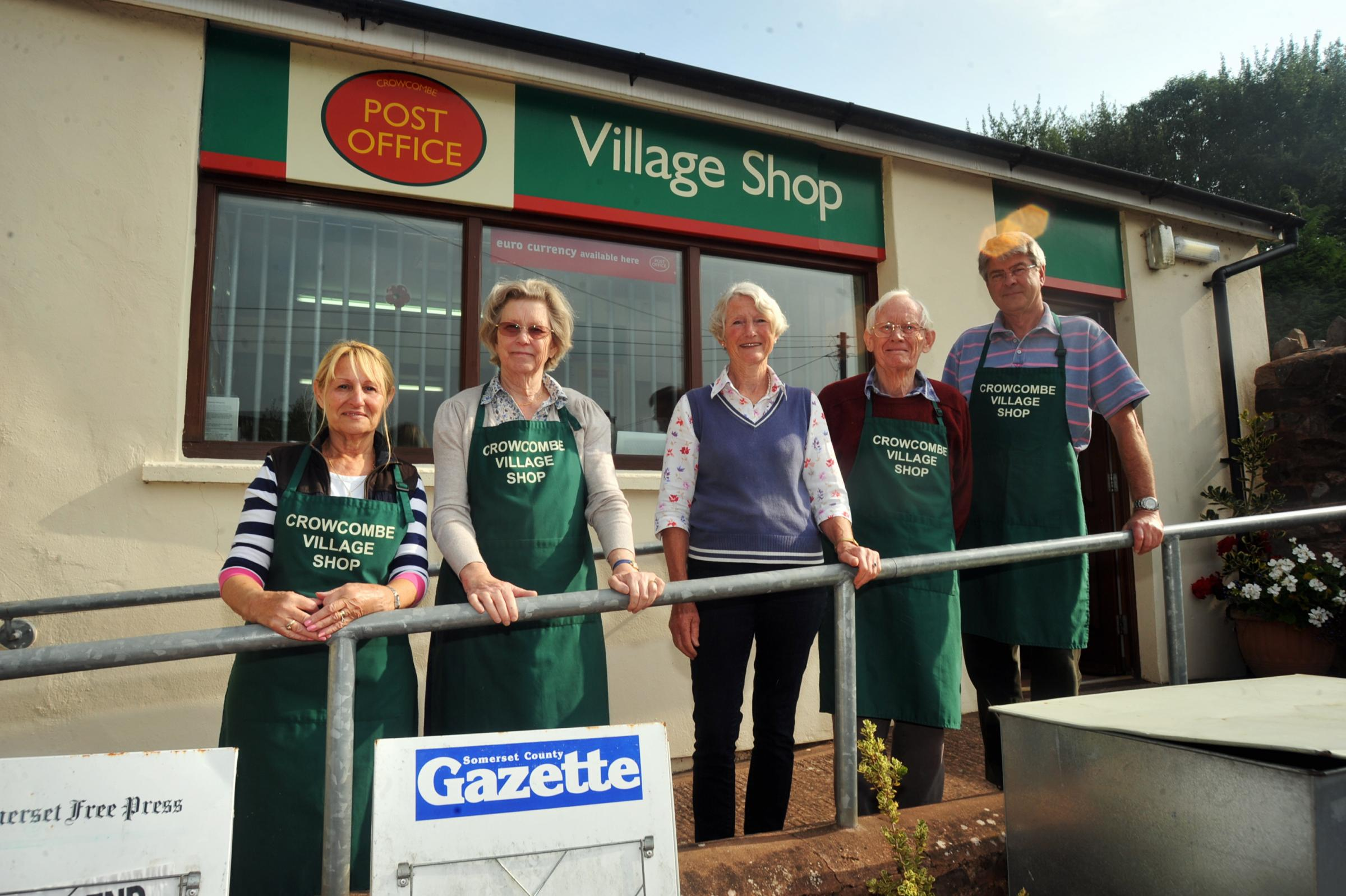 Crow be village shop thriving 12 years on