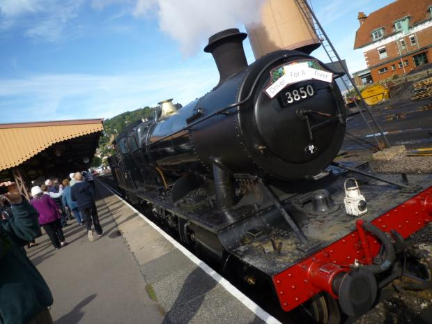 Book signing at Minehead Station this weekend (August 30 and 31)