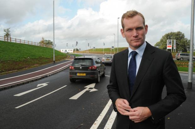 Jeremy Browne is campaigning for a proper Northern Relief Road for Wellington.