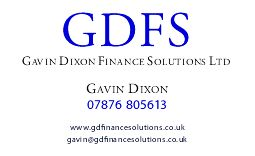 Gavin Dixon Finance Solutions Ltd