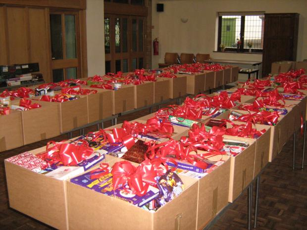 THE West Somerset Food Cupboard has sent almost 3,000 parcels since it started in 2007.
