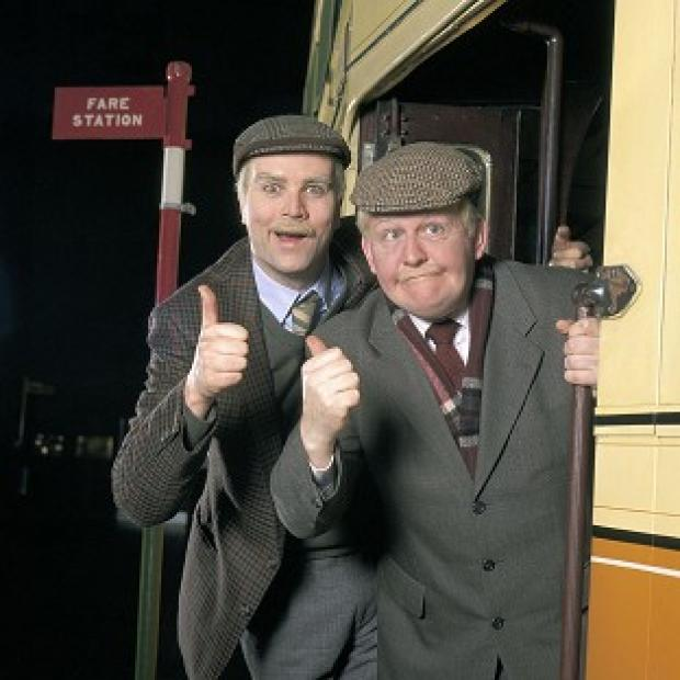 Somerset County Gazette: Ford Kiernan, right, with comedy co-star Greg Hemphill in BBC Scotland's Still Game.