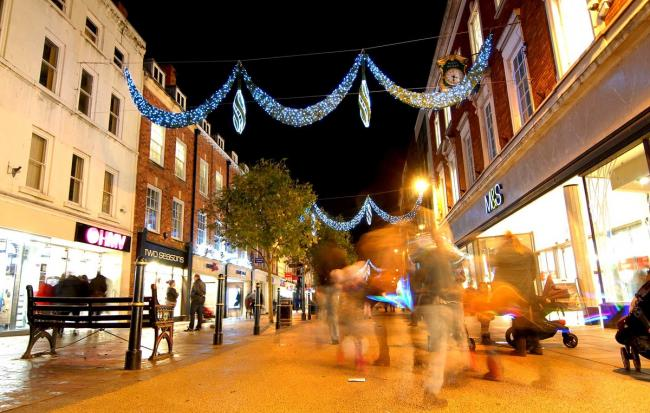 Crowdfunding Campaign kicks off In Exeter to power this year's Christmas lights display brighter than ever before