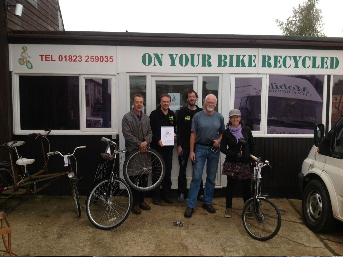 On Your Bike charity gives jobless Gary a lifeline