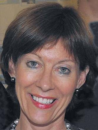 Somerset County Council chief exec Sheila Wheeler leaves by