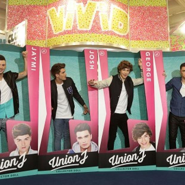 Somerset County Gazette: Chart act Union J launch their dolls.