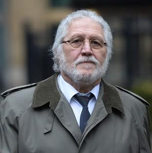 Former DJ Dave Lee Travis arrives at Southwark Crown Court in Londo