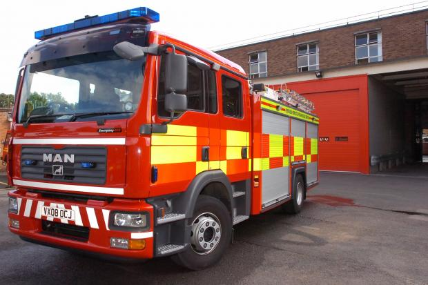 Pub goers disturbed by chimney fire in Churchinford