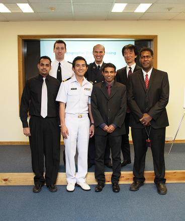 Nippon course at Taunton's UK Hydrographic Office