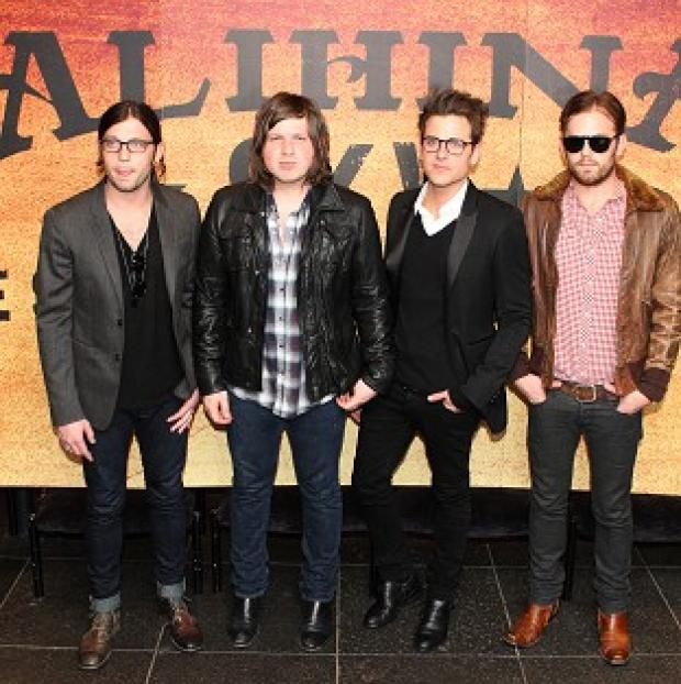 Somerset County Gazette: The Kings of Leon will headline this year's Isle of Wight Festival