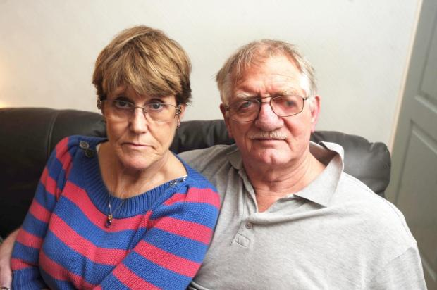 Murium and Peter Green, who were attacked with a machete in 2009.