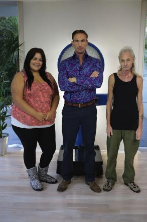 Charlene Shattock, Dr Christian Jessen and Mick Wickes.