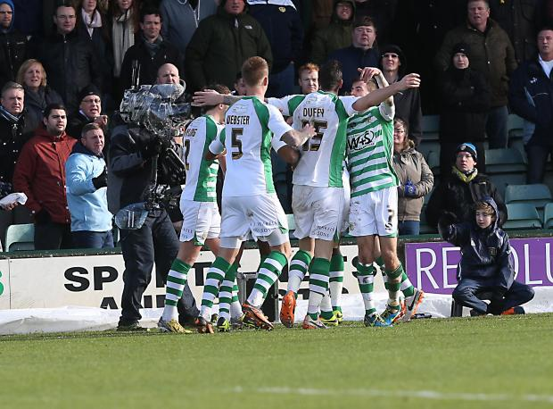 SkyBet Championship: Yeovil Town 1, Leeds United 2