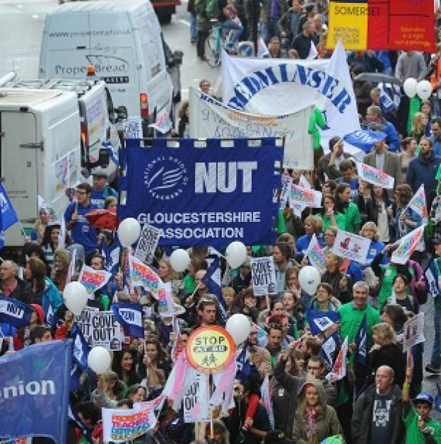 "Somerset County Gazette: NASUWT's national executive said it remains ""deeply concerned"" about Government education policies, but its members will not be staging a walkout this term"
