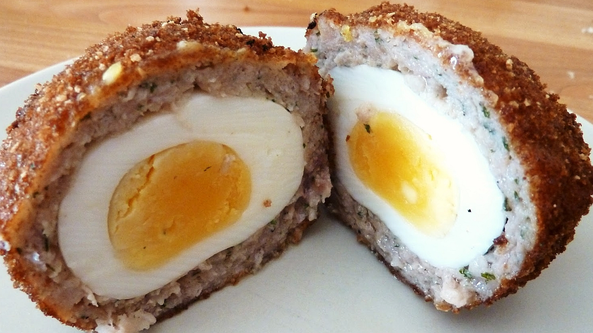 Scotch egg thief apologises after 'community resolution' - police