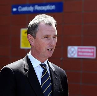 Nigel Evans, who is on trial at Preston Crown Court, denies nine sex offences