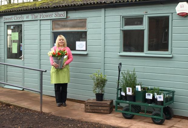 LUCY Gowar outside her new store The Flower Shed. PHOTO: Submitted.
