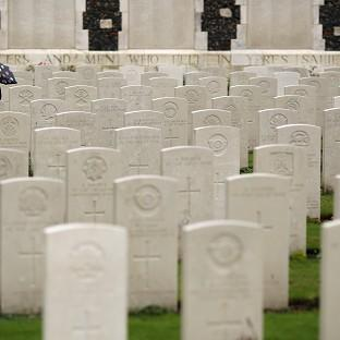 Somerset County Gazette: Twenty soldiers were laid to rest at a service at the Commonwealth War Graves Commission Cemetery at Loos-en-Gohelle near Lens