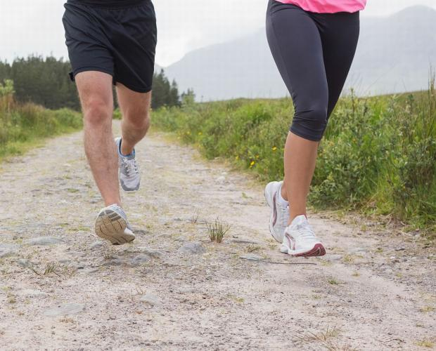 RUNNING: Runners go on their travels