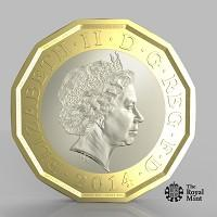Somerset County Gazette: The new one pound coin announced by the Government will be the most secure coin in circulation in the world (HM Treasury/PA)