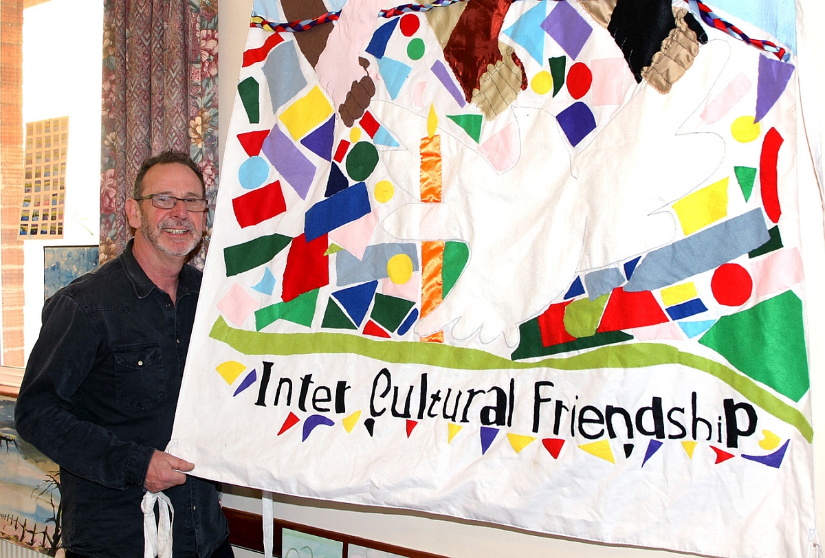 Friendship Group gets colourful at Watchet art day
