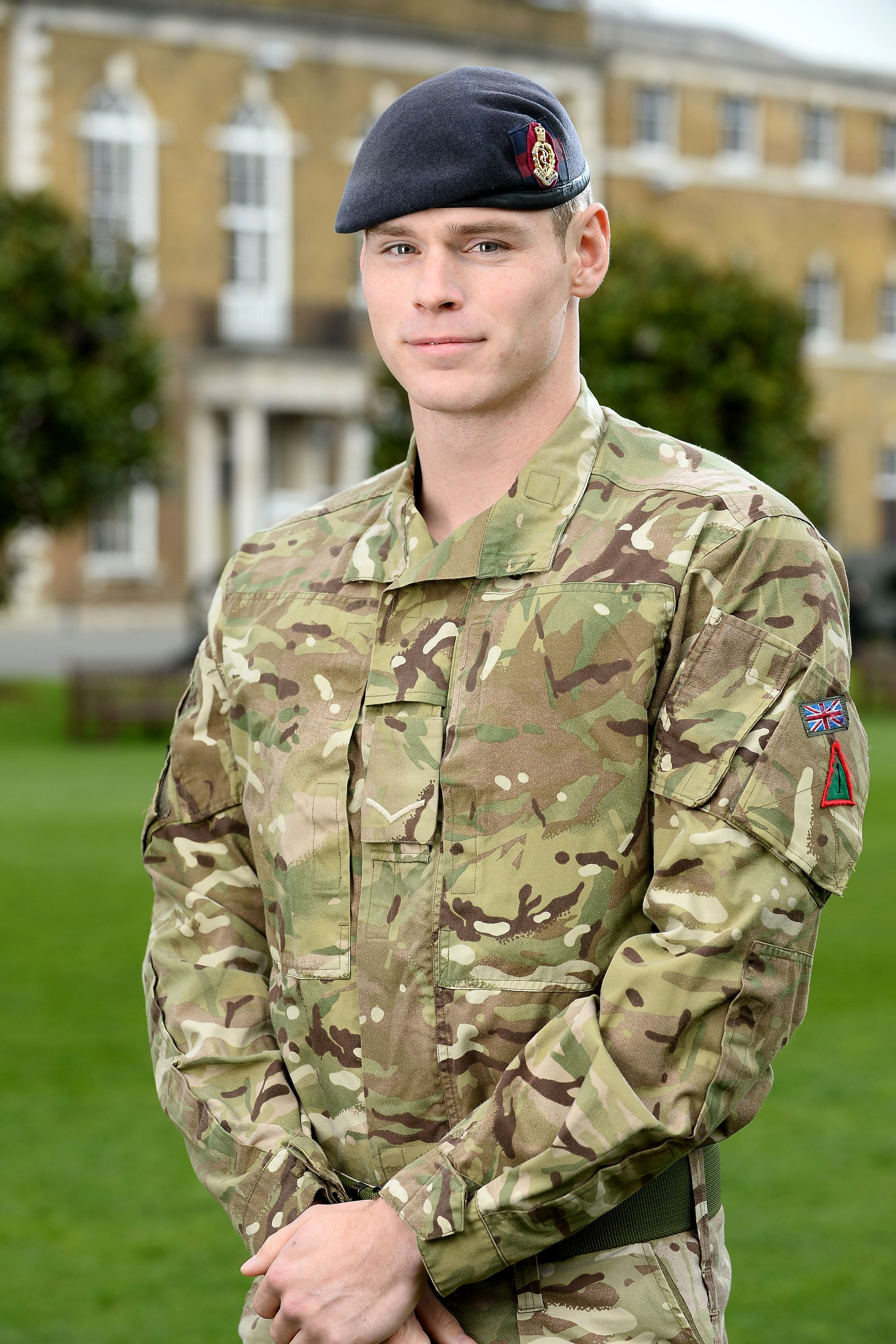 LCpl Wes Masters, of Taunton, gets the Military Cross for saving his mate's life