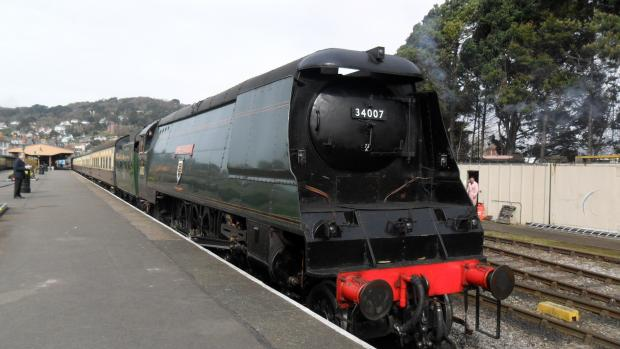 THE 'Wadebridge' which will be in action from tomorrow (March 26). PHOTO: Sam Burton.