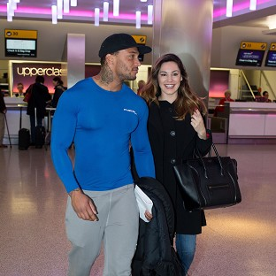 Kelly Brook with her reported f