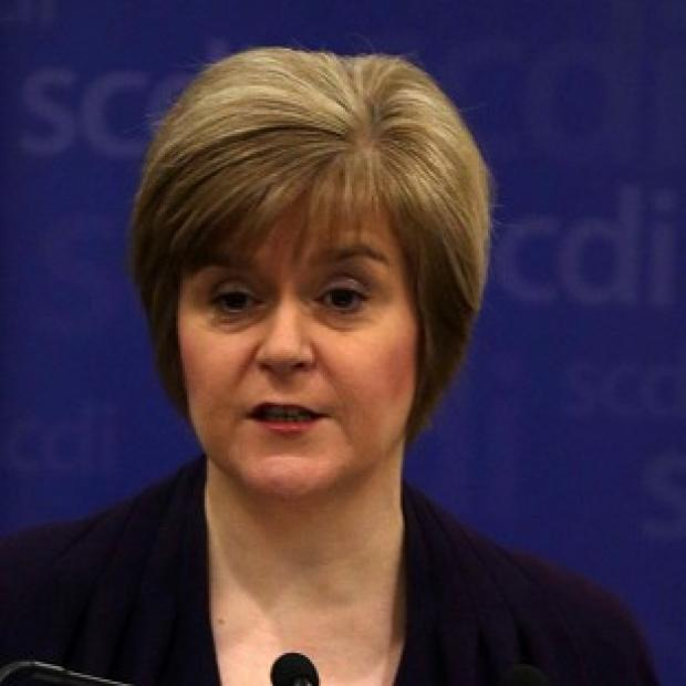 Somerset County Gazette: Nicola Sturgeon said reports that a pro-union government minister believes there would be a currency union between an independent Scotland and the rest of the UK reports gave a big boost to the Yes campaign.