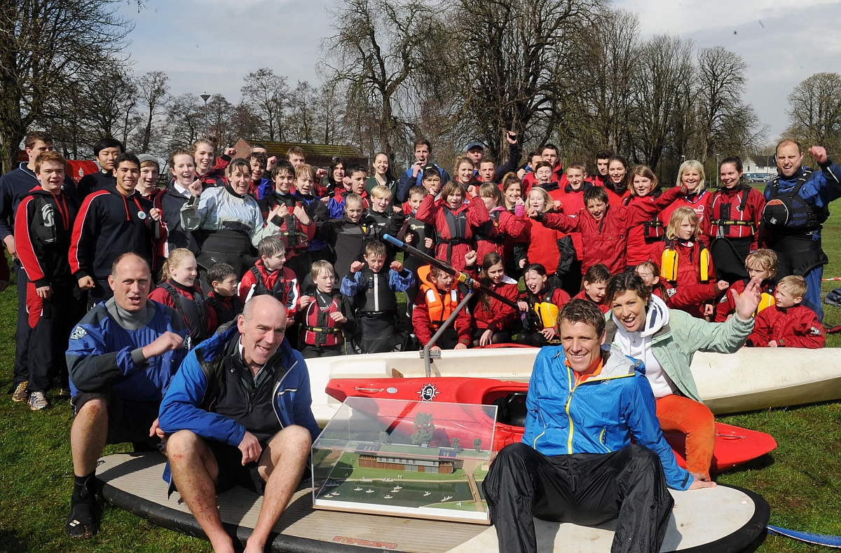 Olympic rower backs youth watersports facility