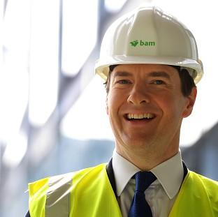 Chancellor George Osborne says Britain is going to have the most competitive export finance in Eu