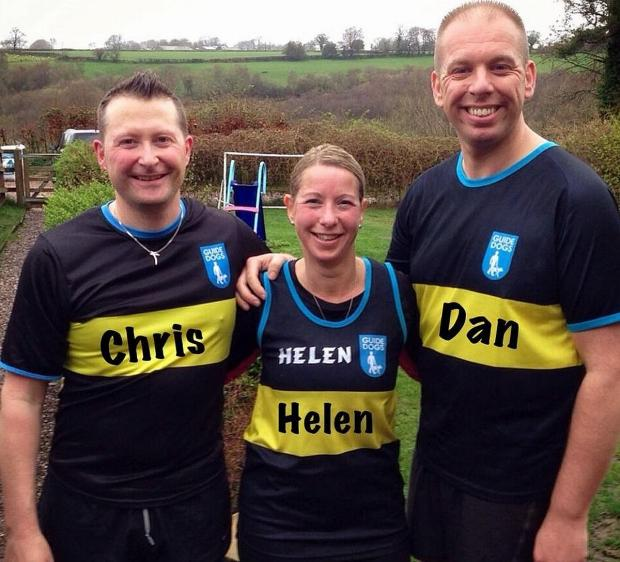 Chris O'Connor, Sgt Helen Boyd and PC Dan Bishop.