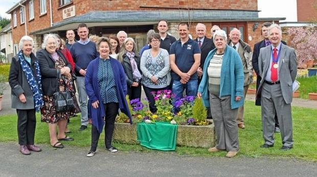 A plaque was unveiled in West Buckland in Peter's memory.