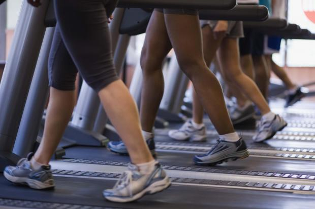 Gym usage is down 7% across Tone Leisure's centres.