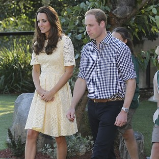 William in tribute to 'magnetic' Oz