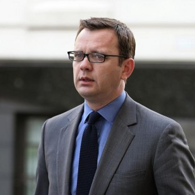 Somerset County Gazette: Andy Coulson arrives at the Old Bailey.