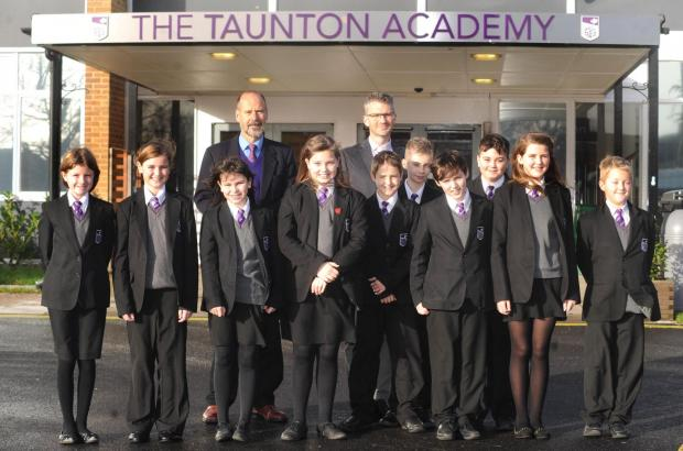 STUDENTS at Taunton Academy can now benefit from a pioneering mentor scheme.