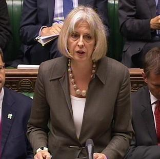 Somerset County Gazette: Home Secretary Theresa May is one of three female Cabinet members