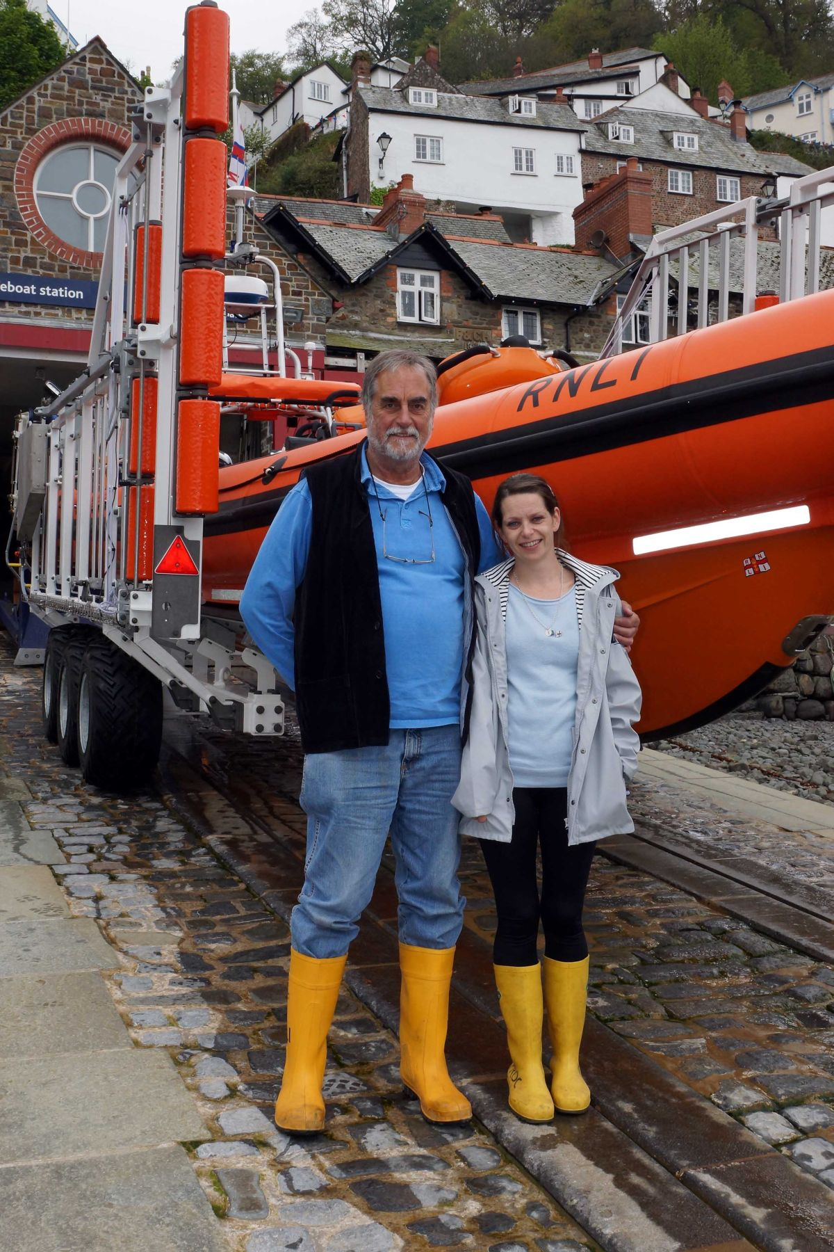 RNLI Lifeboat launches in Williton student's memory