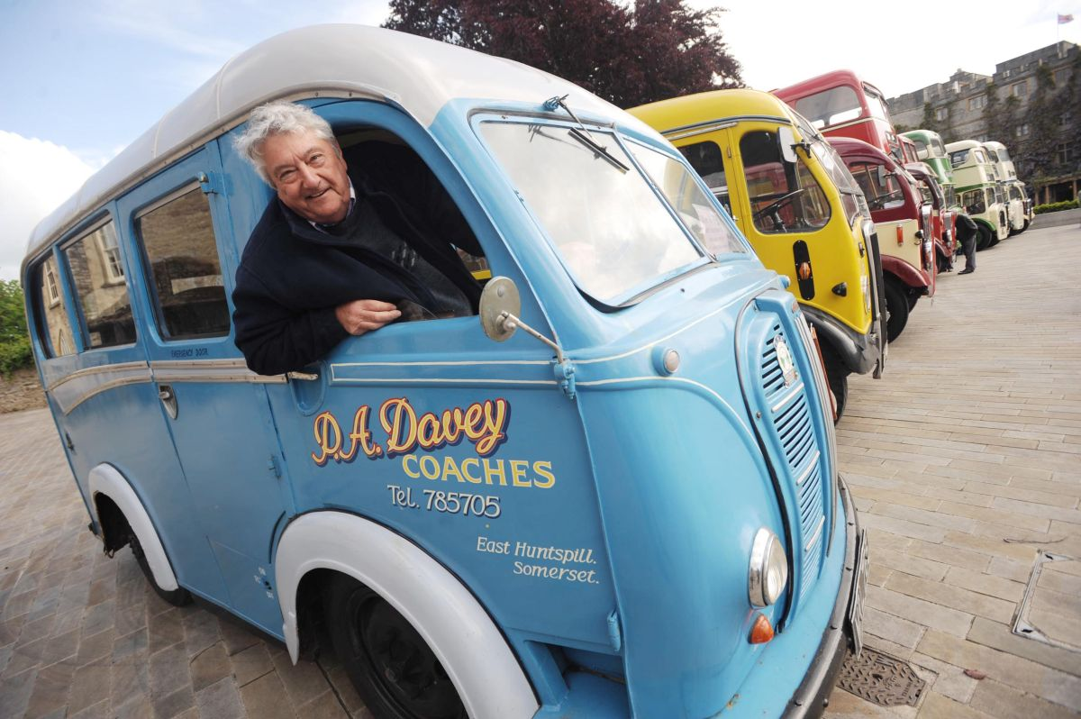 Taunton's vintage bus day goes down a treat with visitors