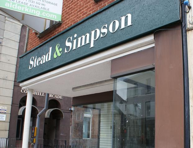 The Stead & Simpson store has stood empty for some time but i