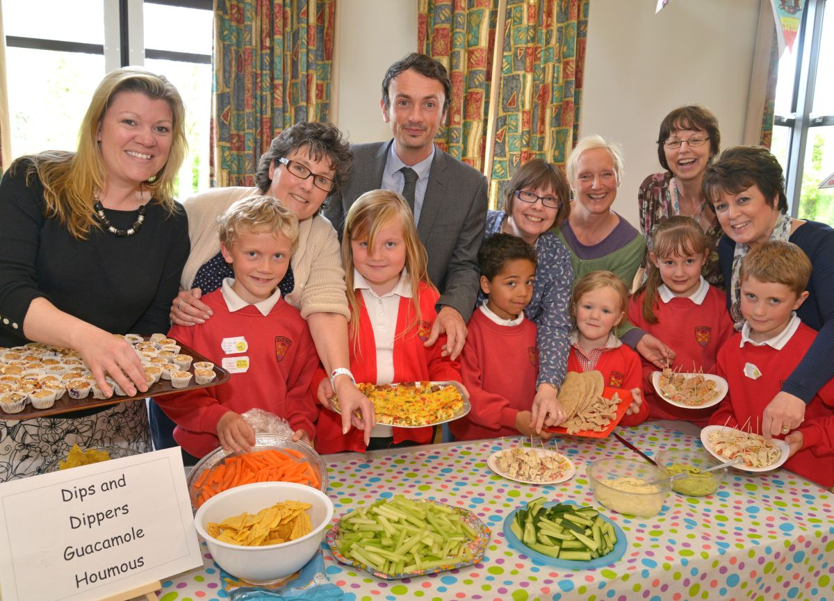 Lessons in healthy eating at St Peter's