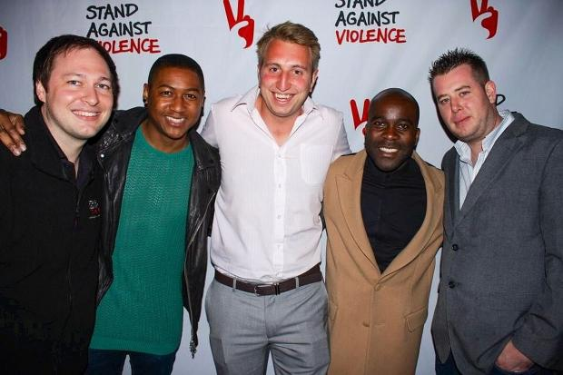 From left, Adam Fouracre, Rickie H-Williams, Tom Phillips, Melvin Odoom and Rob MacDonald.