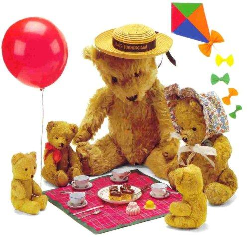 Teddy bears' picnic in Dunster