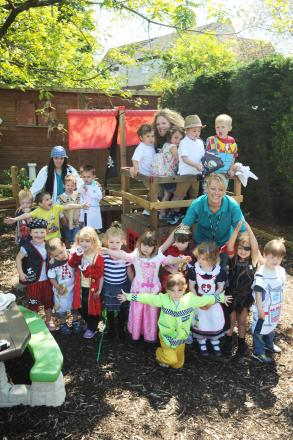Children and staff at West Monkton Pre-School held a Save the Children fun day for charity and were all smiles after their Ofsted report.