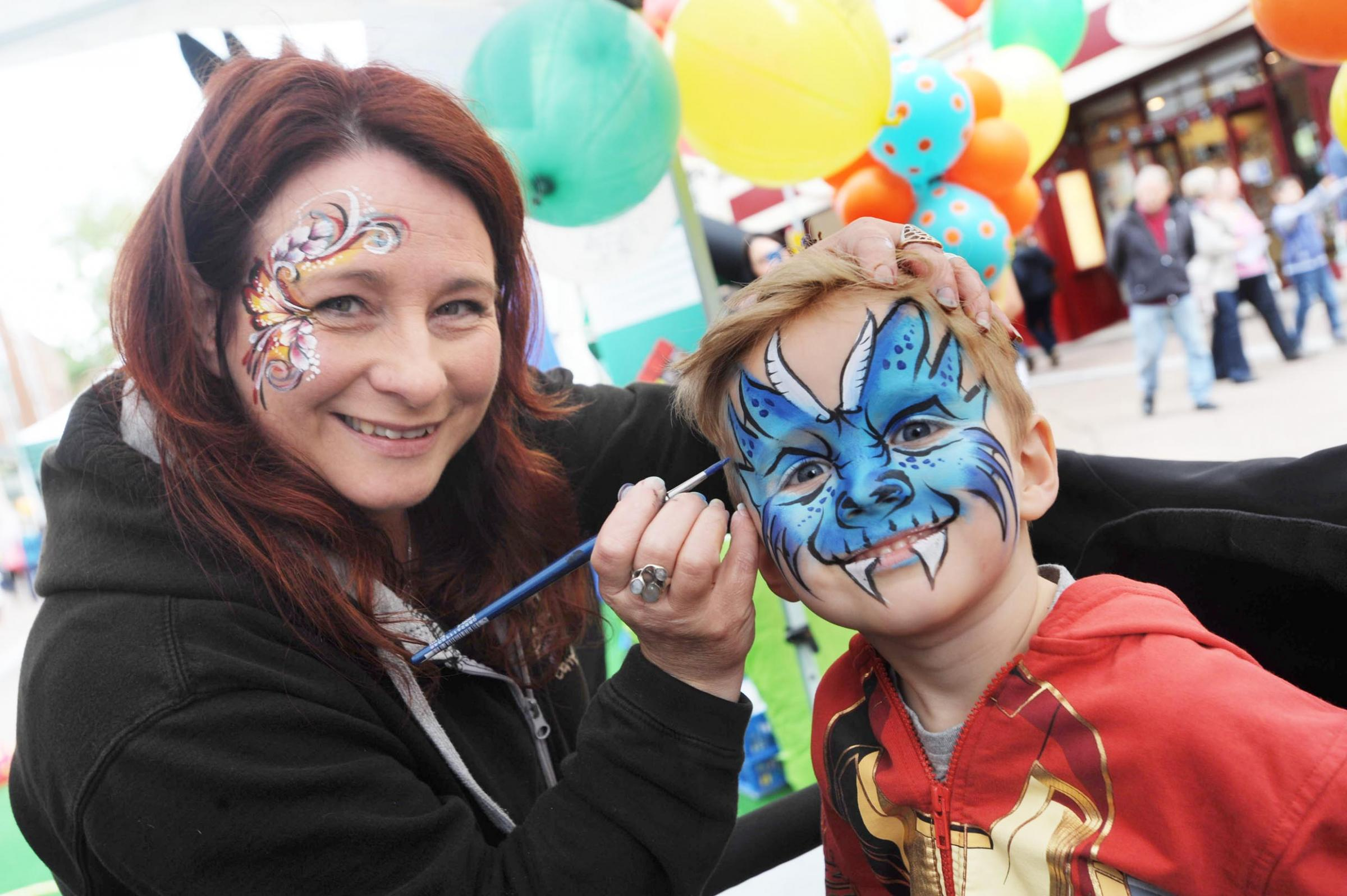 Hundreds enjoy loads of fun at Taunton town centre family fun day