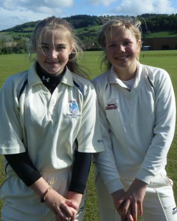 CRICKET Wellington girls show talent