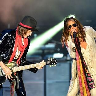 Somerset County Gazette: Aerosmith's Joe Perry and Steven Tyler put aside their differences to headline the Download Festival