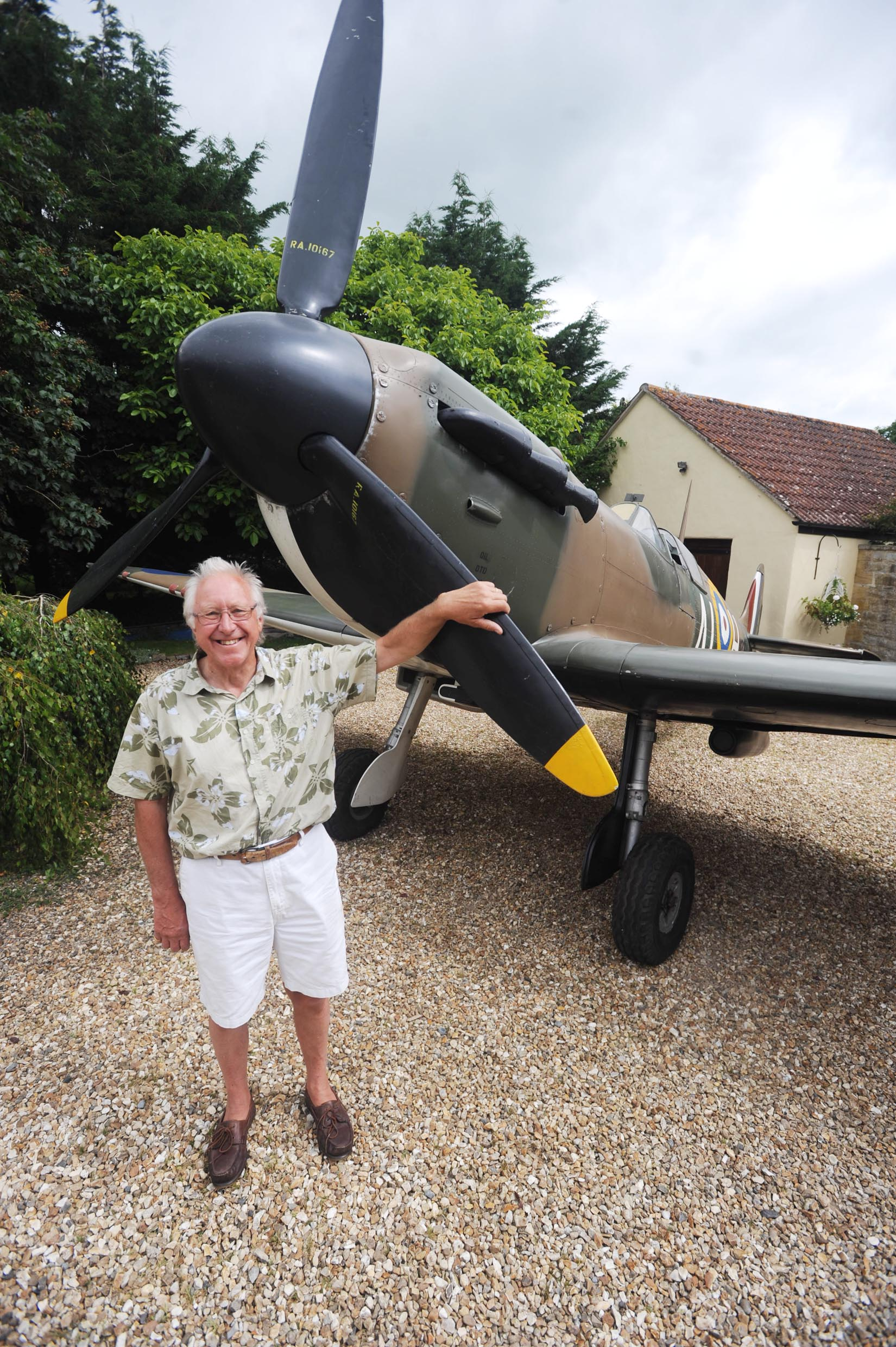 Spitfire is star attraction at birthday bash in Isle Brewers